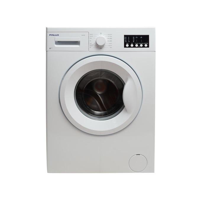 Перална машина Finlux FXF6 100T, клас A++, 6 кг. капацитет, 1000 оборота в минута, 15 програми, свободностояща, 60 cm. ширина, таймер за отложен старт, бяла image