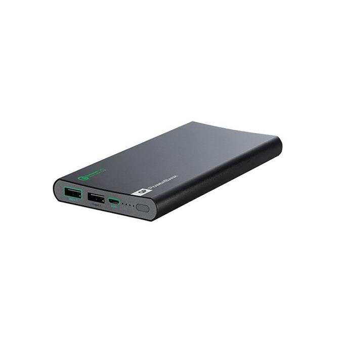 Външна батерия/power bank GP FP10M, 2x USB порта за едновременно зареждане, 10 000mAh, черна image