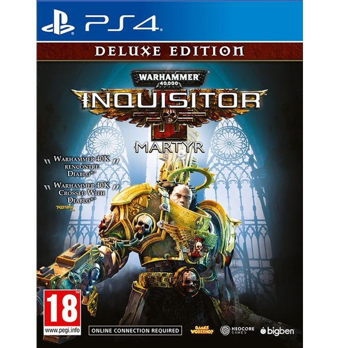 Игра за конзола Warhammer 40,000 Inquisitor Martyr Deluxe Edition, за PS4 image