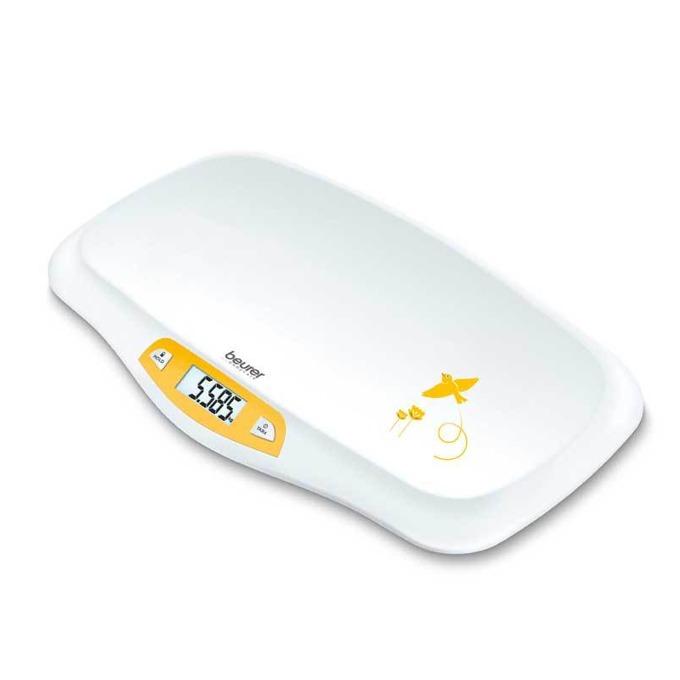 Бебешка електронна везна Beurer BY80, LCD дисплей, максимално тегло 20кг, бяла image