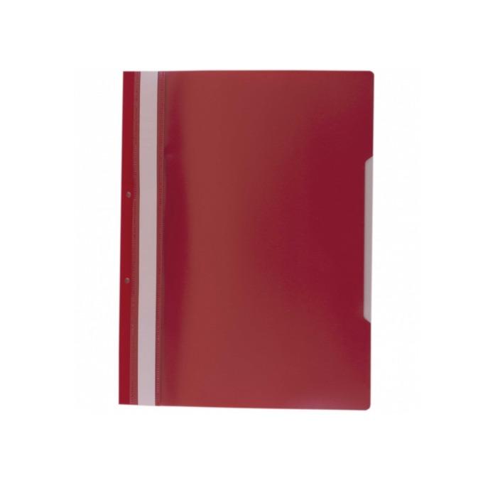 Папка PVC перфорация червена