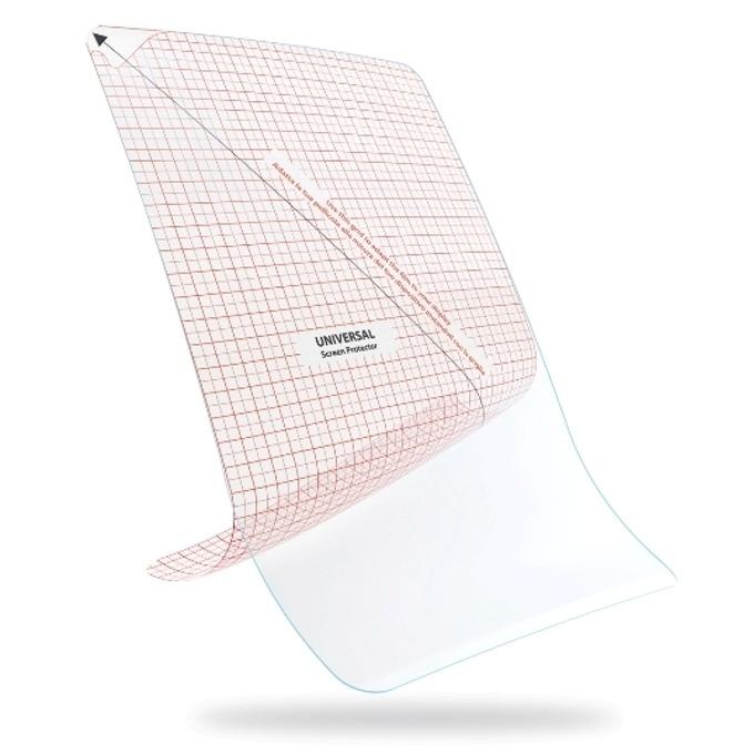 """Защитно фолио (протектор), за дисплеи до 8.2"""", универсално, 2 бр. image"""