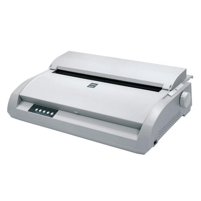 Матричен принтер, Fujitsu DL 3850+, 360x360 dpi, 24 pin, 136 column, 537cps, USB + parallel image