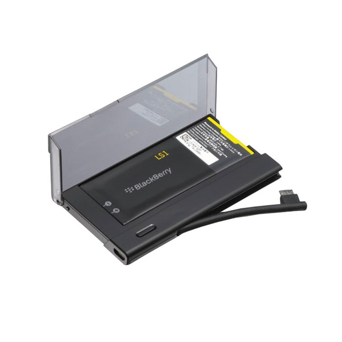 Батерия (оригинална) BlackBerry ACC-50256-201 в комплект с оригинална док станция за зареждане на батерията, 1800mAh/3.8V, за BlackBerry Z10  image