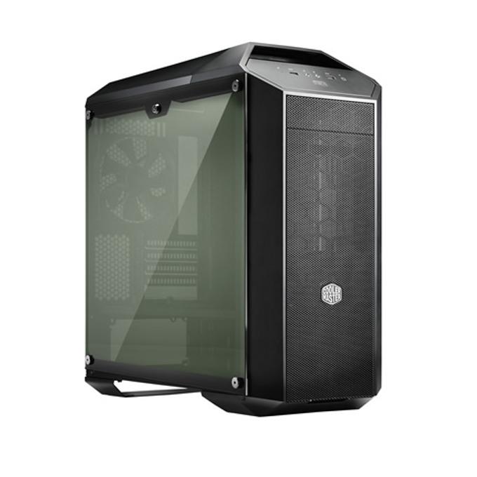 Кутия Cooler Master MasterCase Pro 3, microATX/mini-ITX, 2x USB 3.0, черна, без захранване image