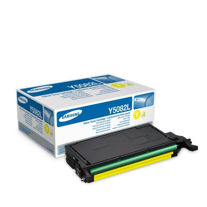 КАСЕТА ЗА SAMSUNG CLP620/CLP670/CLX6220/CLX6250 - Yellow High capacity - P№ CLT-Y5082L - заб.: 4000k image