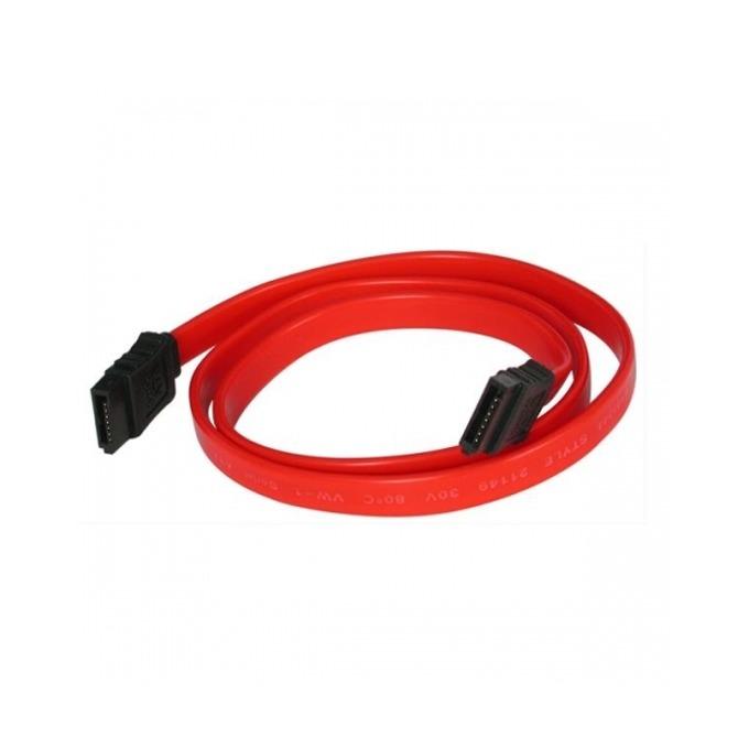 Кабел Digital One SP00050, SATA2, 3 Gbit/s, 0.5m, червен image