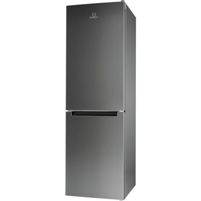 Хладилник с фризер Indesit LR8 S1 X, клас A+, 339л общ обем, свободностоящ, 309 kWh/годишно, инокс image