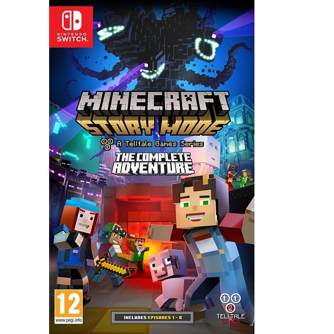 Minecraft: Story Mode - The Complete Adventure, за Switch image