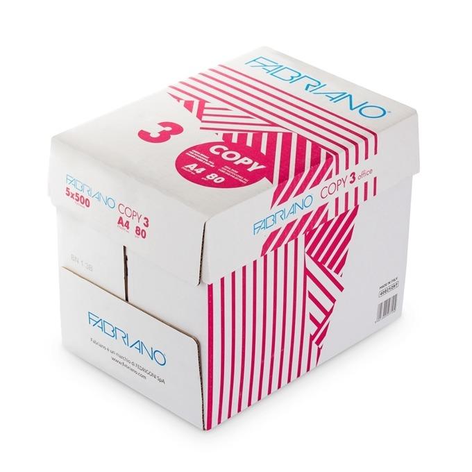 Fabriano Copy 3, A4, 80 g/m2, 500 листа, 5 пакета product
