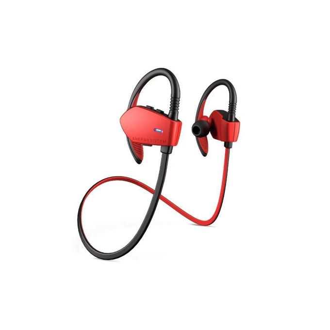 Слушалки Energy Sistem Sport 1, безжични, микрофон, до 10м, червен image