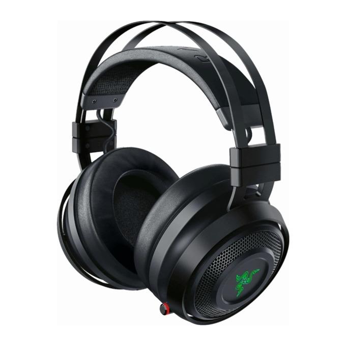 Слушалки Razer Nari Ultimate, безжични, микрофон, до 20 часа работа, RGB, черни image