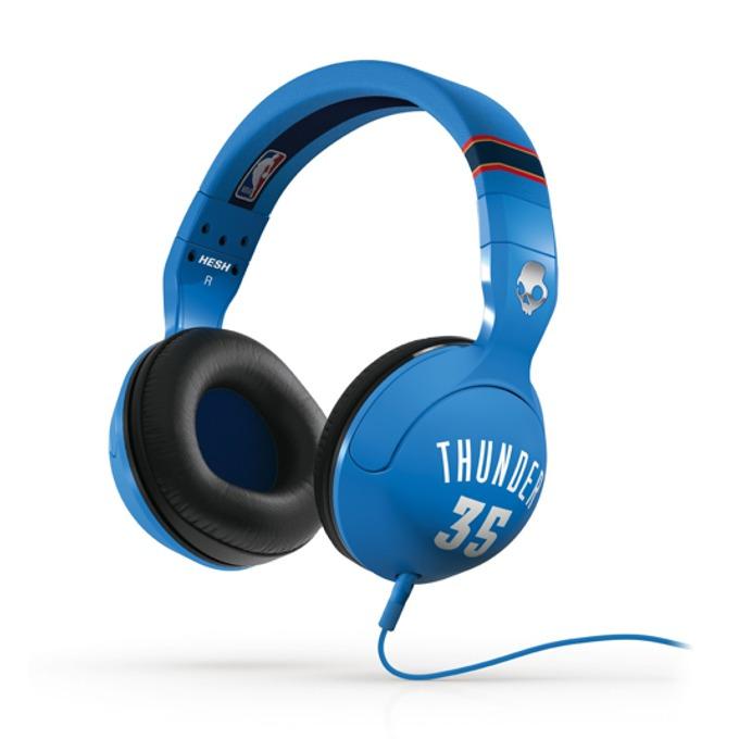 Cлушалки SkullCandy HESH 2.0 NBA Thunder, микрофон image