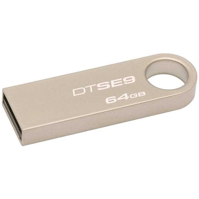 Памет 64GB USB Flash Drive, Kingston DataTraveler SE9, USB 2.0, златиста image
