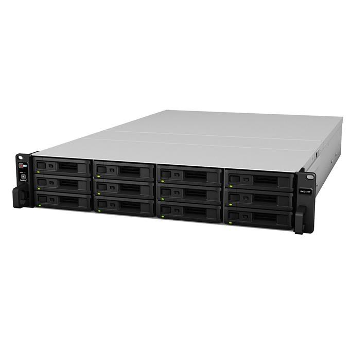 "Разширителен блок Synology RackStation (RX1217), Ultimate SAS & SATA Storage, 12 слота SATA3 2.5""/3.5"", 1x expansion port, infiniband cable  image"