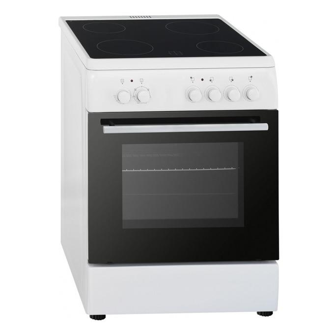 Готварска печка Аrielli C-6060CER, клас А, 56 л. обем на фурната, 4 нагревателни зони, бяла image