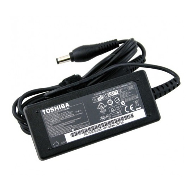 Захранване (оригинално) за лаптопи Toshiba 15V/6.0A/90W, (6.3 x 3.0) image