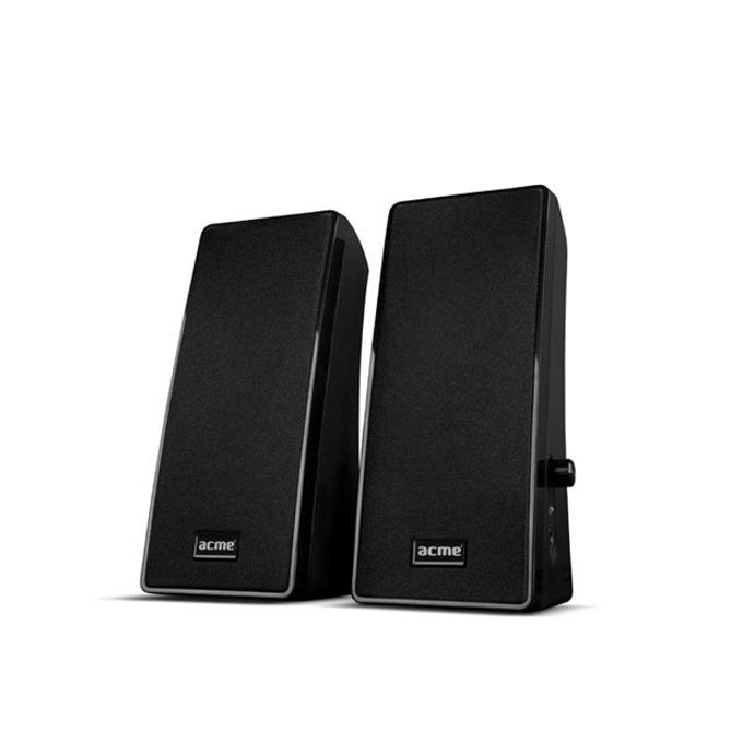 Тонколони Acme SS108, 2.0, 4W RMS, 100 Hz – 20 kHz, AUX, USB, черни image