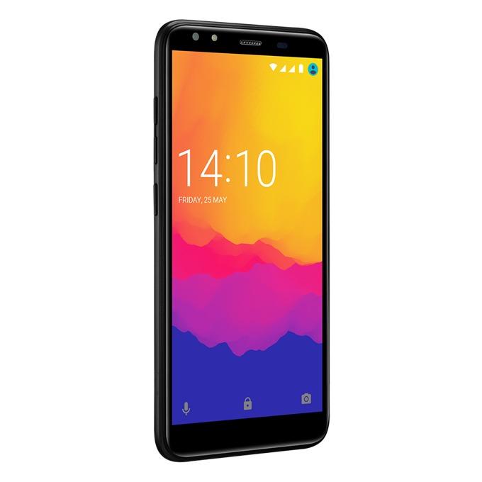 """Смартфон Prestigio Muze F5 LTE (черен), поддържа 2 sim карти, 5.5"""" (13.97 cm) HD IPS дисплей, четириядрен MediaTek MT6739 1.3 GHz, 2GB RAM, 16GB Flash памет(+microSD слот), 13 Mpix & 5.0 Mpix камера, Android 8.1, 175g image"""