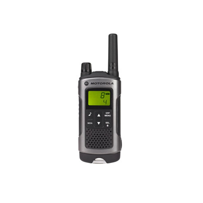 Walkie-Talkie Motorola TLKR T80, PMR446, 8 канала, до 10км обхват, 10 тона на звънене, влагозащита, handsfree, черен image