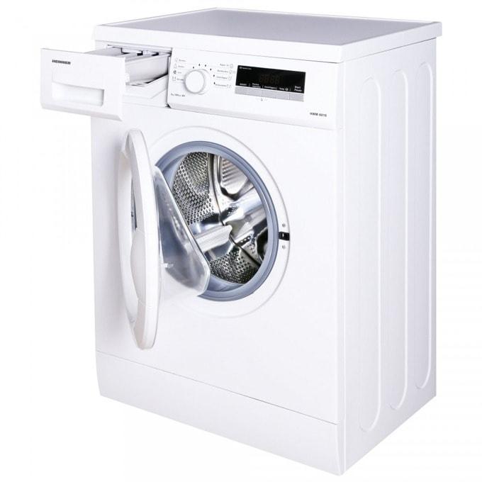 Перална машина Heinner HWM-6010D++, D, капацитет 6кг, 1000 rpm, 15 програми, свободностояща, 59.7 cm щирина, бял image