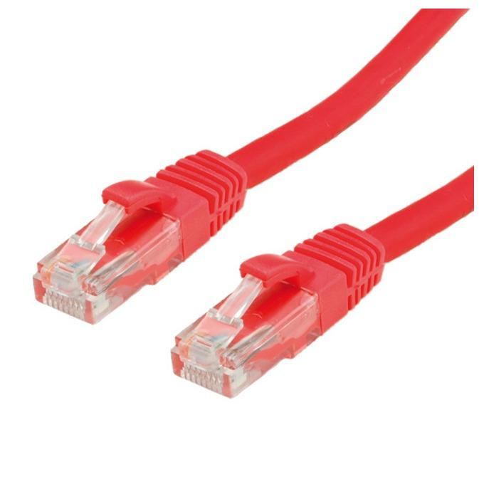 Пач кабел ROLINE 21.15.1391, S/FTP, Cat.6, 15 м, червен image