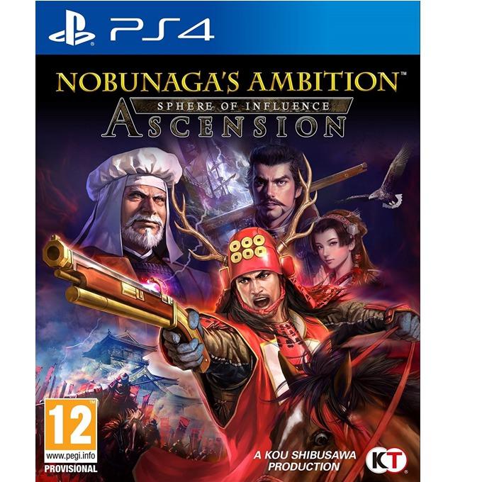 Игра за конзола Nobunagas Ambition: Sphere of Influence - Ascension, за PS4 image