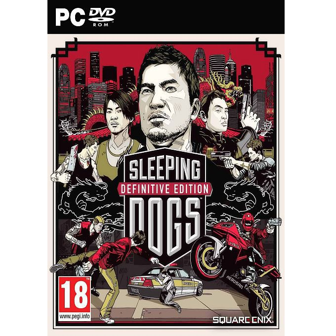 Игра Sleeping Dogs: Definitive Edition - Limited Edition, за PC image