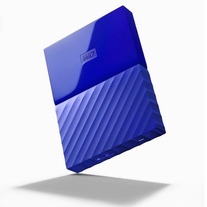"1TB Western Digital MyPassport, външен, 2.5""(6.35cm), USB 3.0, син image"