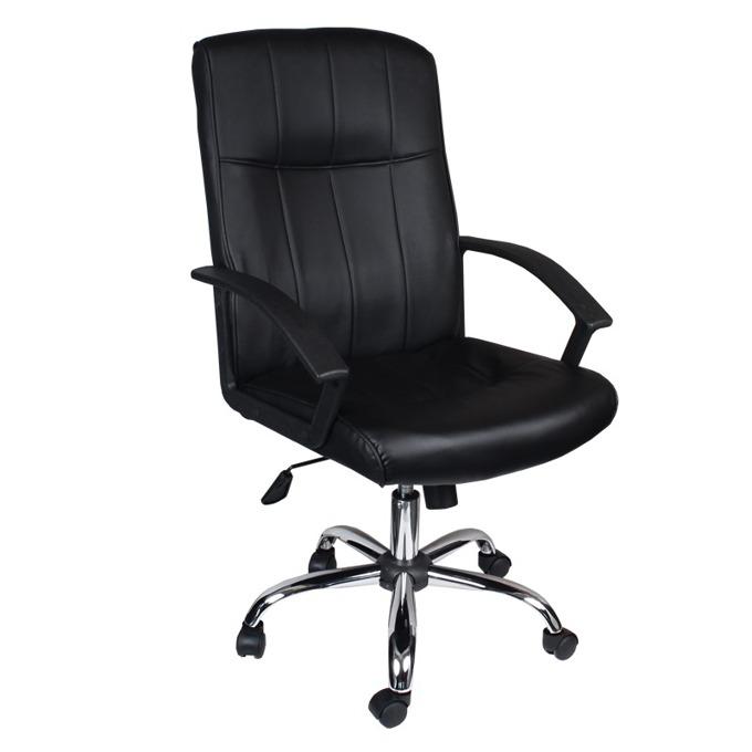 Директорски стол Carmen 6077, черен image