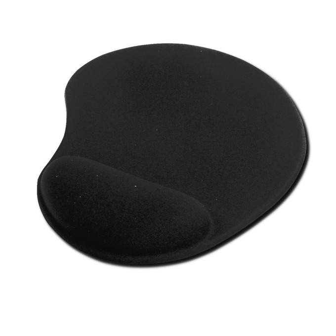 Подложка за мишка Ednet Gel 64020, черна, 225 x 180 x 3мм image
