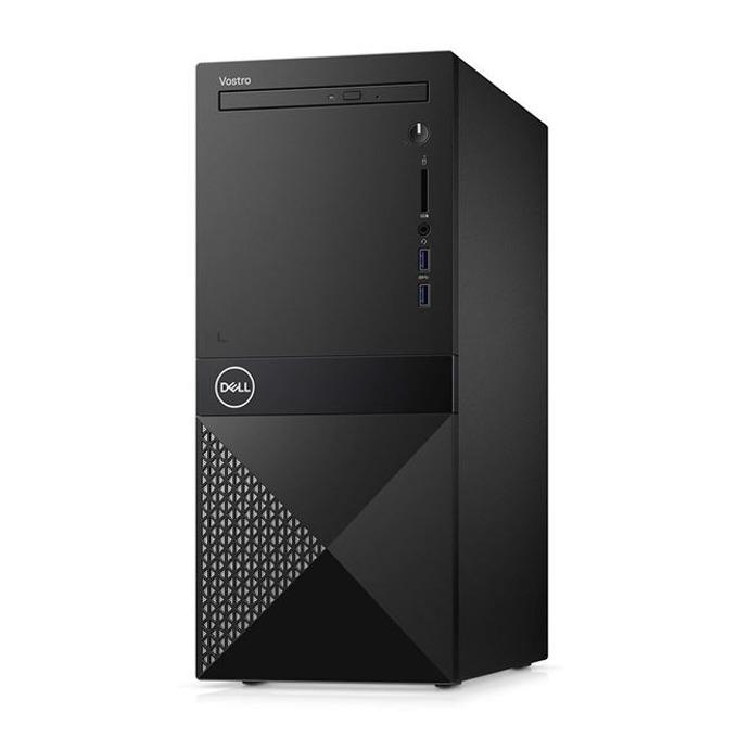 Настолен компютър Dell Vostro 3670 MT (N114VD3670BTOEMEA01_1905), шестядрен Coffee Lake Intel Core i5-8400 2.8/4.0 GHz, NVIDIA GeForce GT 710 2GB, 8GB DDR4, 1TB HDD, 2x USB 3.1, клавиатура и мишка, Windows 10 image