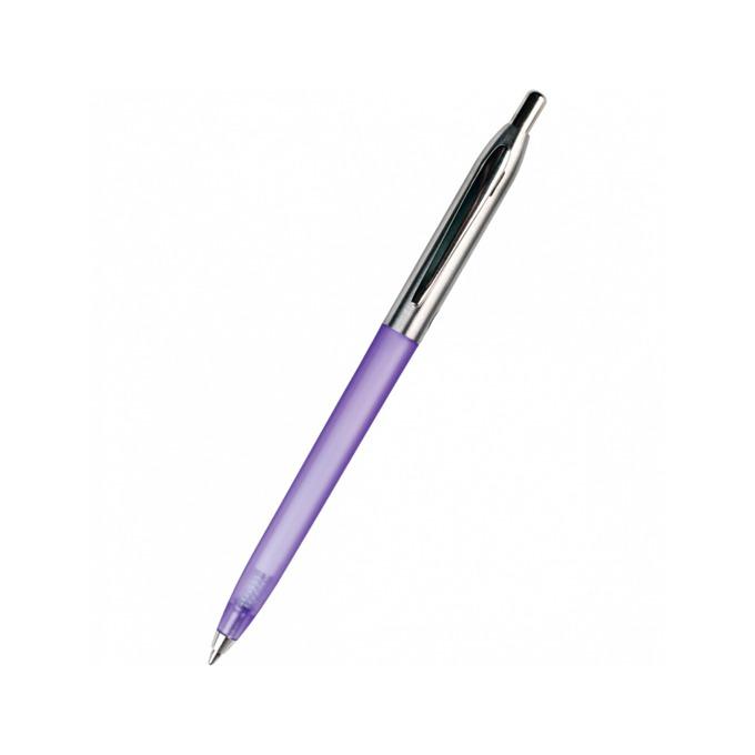 Химикалка Centrum Ice, син цвят на писане, 0.7 mm, различни цветове, цената е за 1бр. (продава се в опаковка от 60 бр.) image