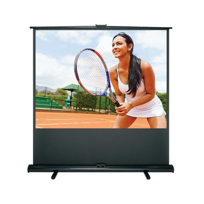 """Екран Optoma DP-3072MWL, на стойка, бял мат, 1530 x 1777, 72"""" (213.36 cm), 4:3 image"""