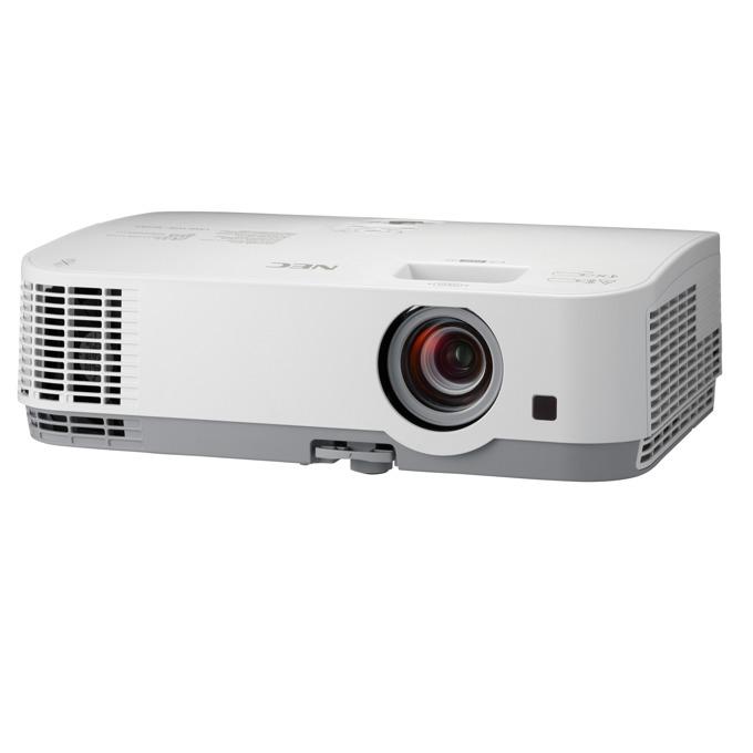 Проектор NEC ME301X, LCD, XGA (1024x768), 12000:1, 3000 lm, VGA, HDMI, RS232, RCA, USB, LAN image
