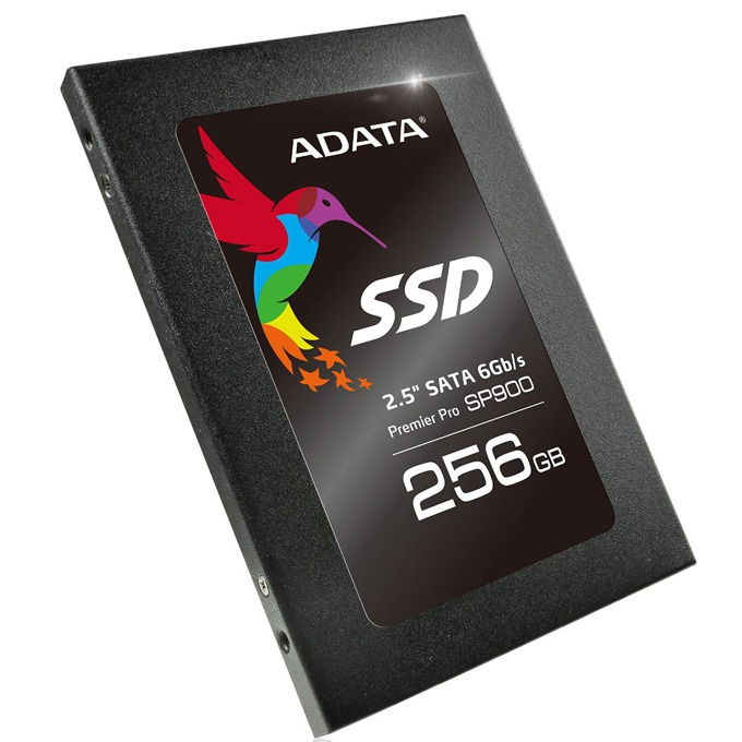 "SSD 256GB A-Data Premier Pro SP900 (ASP900S3-256GM-C), SATA 6Gb/s, 2.5"" (6.35 cm), скорост на четене 545MB/s, скорост на запис 535MB/s image"