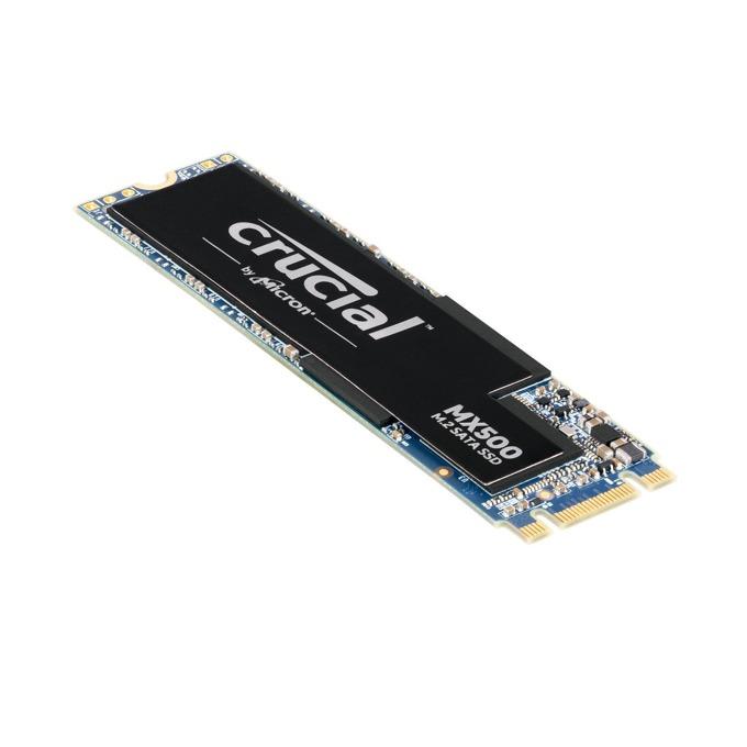 Памет SSD 250GB Crucial MX500, SATA 6Gb/s, M.2 (2280), скорост на четене 560MB/s, скорост на запис 510MB/s image
