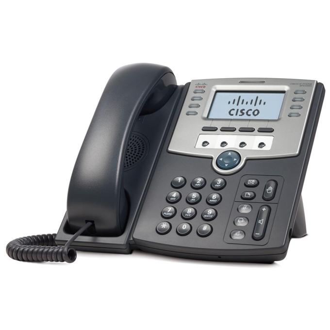 VoIP Телефон, Cisco SPA509G, 12 Line, PoE and PC Port image