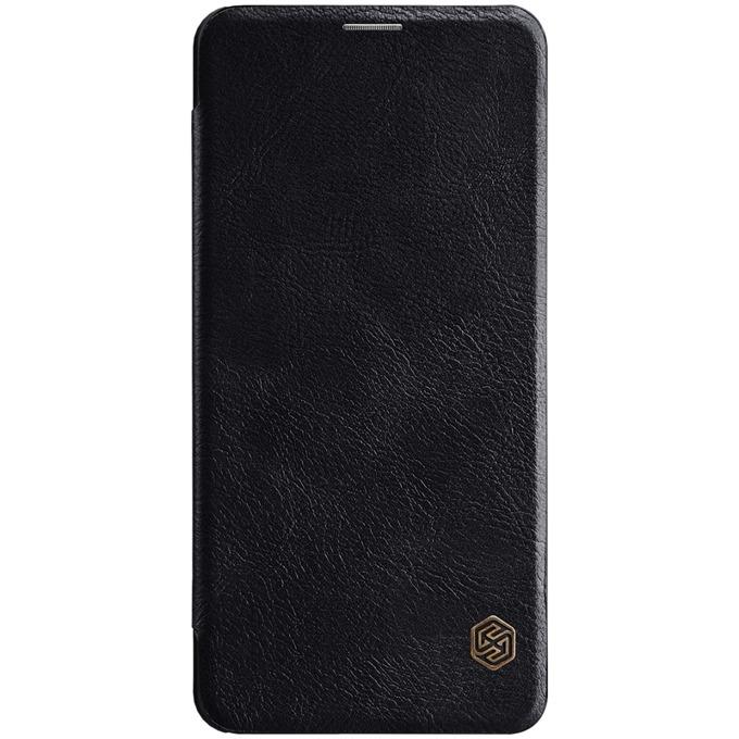 Oригинален калъф за Xiaomi Mi Pocophone F1, smart, кожа, Nilkin Qin XI358-Cheren, черен image
