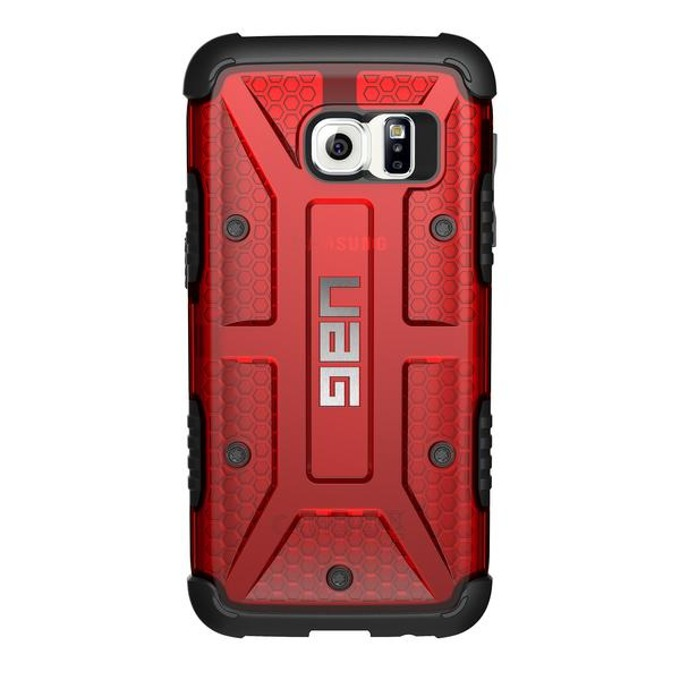 Хибриден кейс Urban Armor Gear Scout, Galaxy S7, удароустойчив, червен image