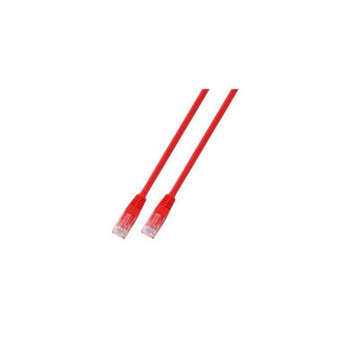 Пач кабел UTP EFB Elektronik, 0.5m, Cat 5E, червен image