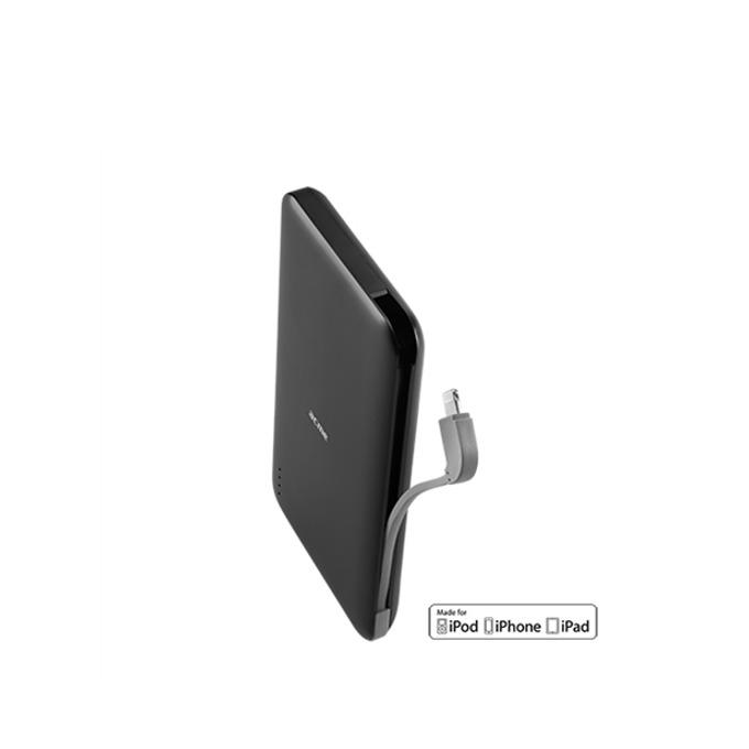Външна батерия/power bank Acme PB20, 6500 mAh, 1x Lightning, 1x USB A, черна image