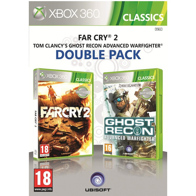 Far Cry 2 + Ghost Recon: Advanced Warfighter product