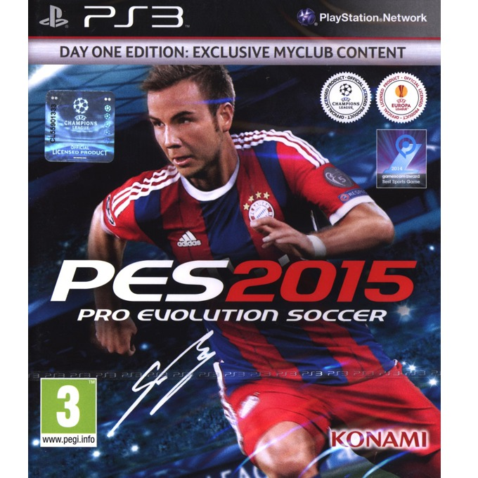 Игра за конзола Pro Evolution Soccer 2015 - Day One Edition, за PS3 image