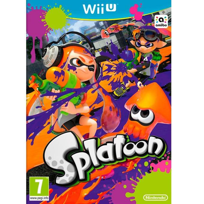 Игра за конзола Splatoon, за Wii U image