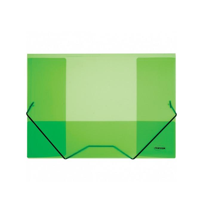 Папка Centrum, за документи с формат до A4, с ластик, различни цветове image