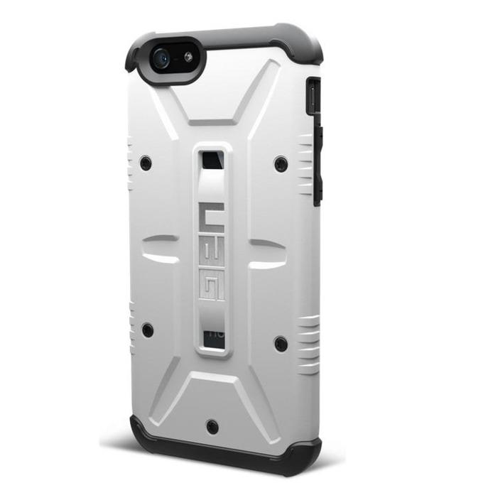 Поликарбонатов протектор Urban Armor Scout за iPhone 6 (бял), удароустойчив image
