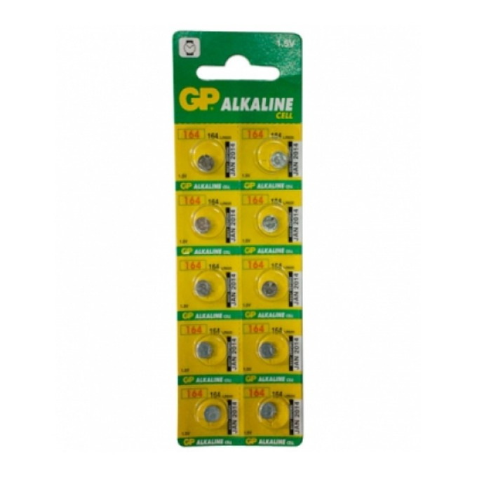 Батерия алкална GP LR620, 1.55V, 10 бр. в опаковка, цена за 1 бр.  image