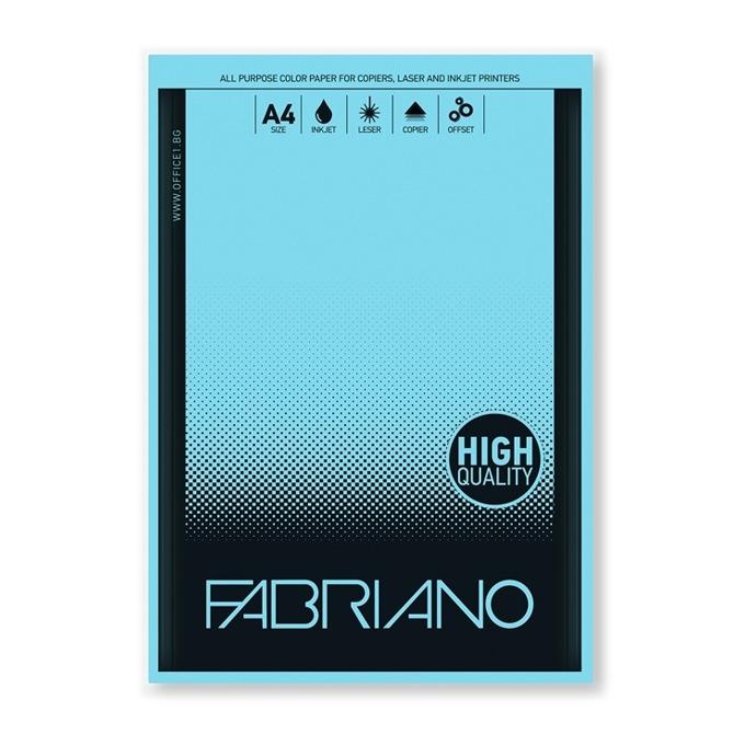 Fabriano A4, 160 g/m2, син, 50 листа product