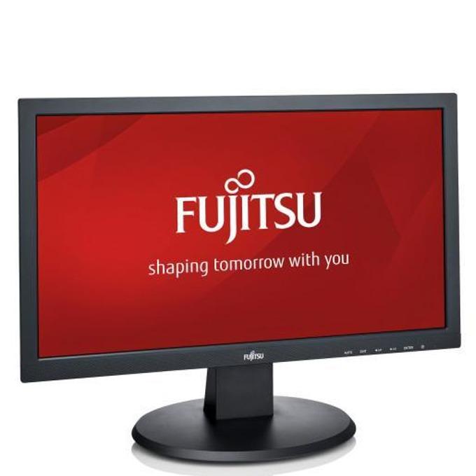 """Монитор Fujitsu E20T-7, 19.5"""" (49.53 cm) TN панел, HD, 20 000 000:1, 250 cd/m2, DVI, VGA image"""